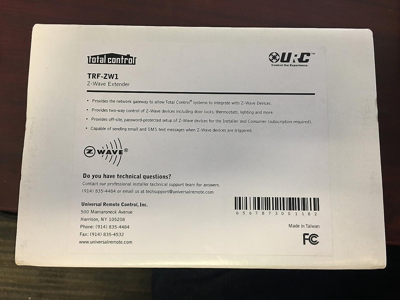 Amazon com: URC Total Control TRF-ZW1 Z Wave Extender: Home