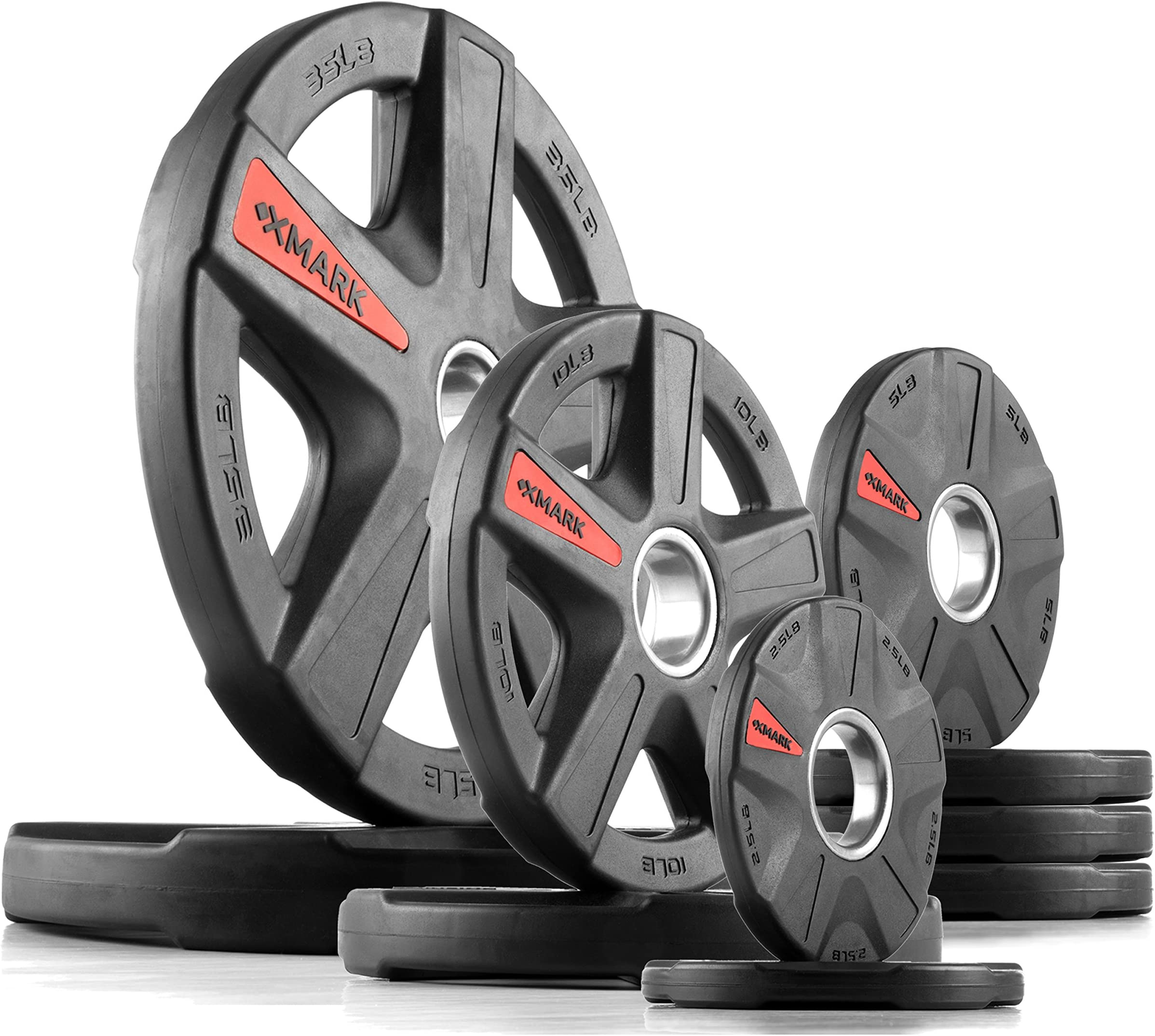 XMark TEXAS STAR or SIGNATURE Series Olympic Plate Weights Olympic Plate Sets 115 lb  sc 1 st  Amazon.com & Plates Weight Plates | Amazon.com
