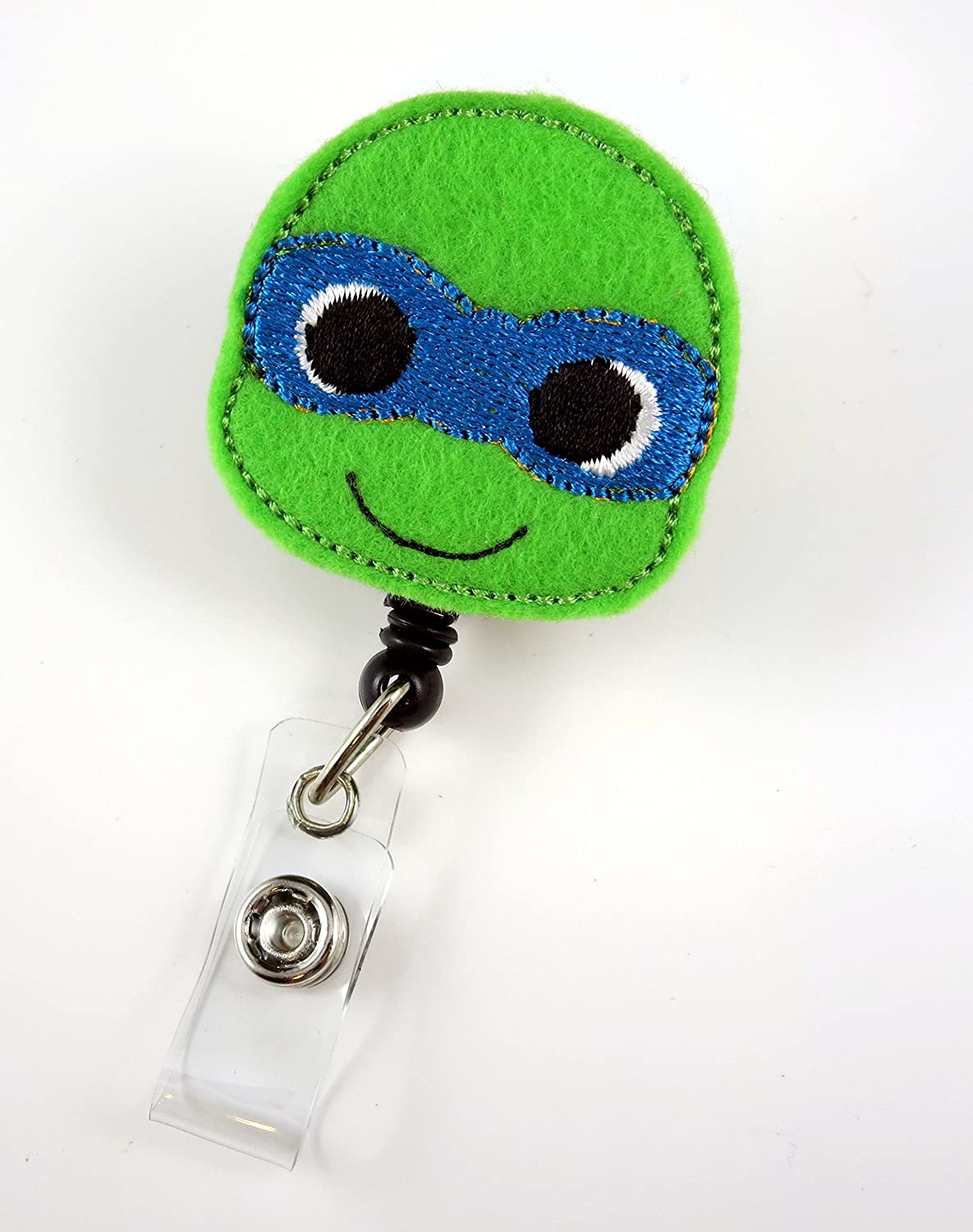 Amazon.com: Ninja Turtle Azul – Enfermera Badge Reel ...