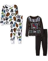Star Wars Toddler Boys' 4-Piece Pajama Set