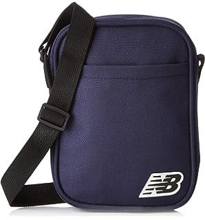48372ec45c204 New Balance Unisex's Pelham City SMU Crossbody Bag, Silver Mink, One ...