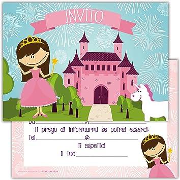 Ben noto Partycards Set di 12 inviti Compleanno Biglietti invito per Festa QH75