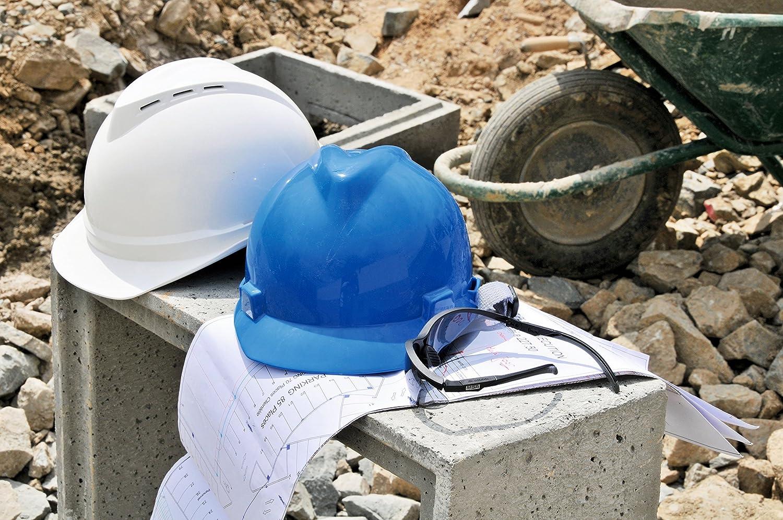 MSA Safety V-Gard Prime De 200 norme EN 397 Bleu divers coloris au choix Casque de chantier V-Gard