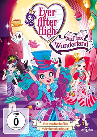 Ever After High Auf Ins Wunderland Amazonde Various Dvd Blu Ray