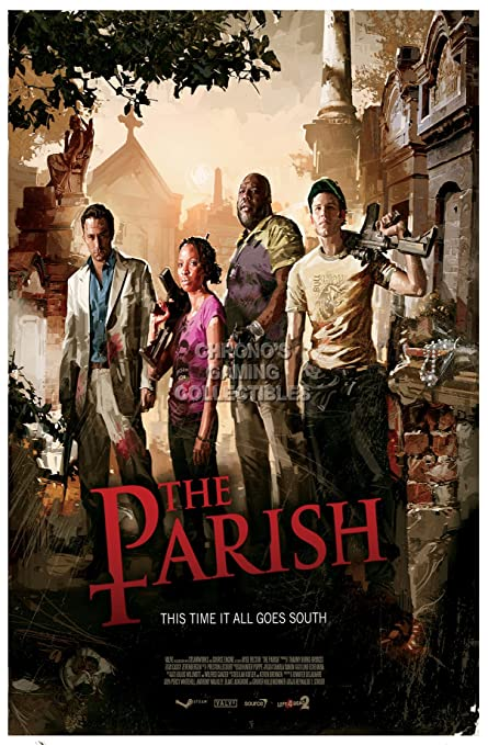 Amazon com: CGC Huge Poster - Left 4 Dead 2 The Parish XBOX 360 PC