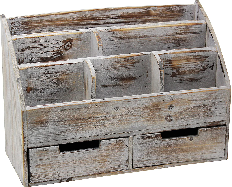 estanter/ía de madera ajustable estanter/ía multiusos para decoraci/ón del hogar regalos Meikuler Organizador de escritorio Shelf estanter/ía de oficina oficina marr/ón
