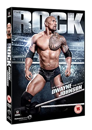 amazon com wwe the rock the epic journey of dwayne dvd