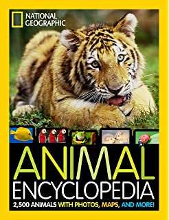 National Geographic Animal Encyclopedia 2500 Animals With Photos Maps And More