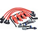 Amazon.com: WRX IGNITION COIL PACKS LEGACY TWIN TURBO & WIRE HARNESS on