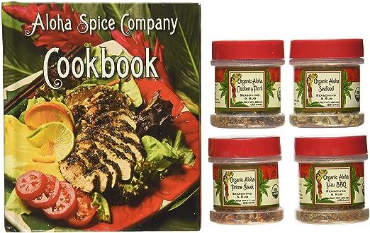 Organic Hawaiian Spice Set