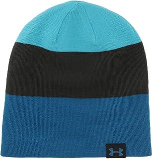 1065f7b1582 Amazon.com  Under Armour Mens Logo Reversible Beanie Hat Gray O S ...