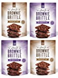 Brownie Brittle, Gluten-Free Variety Pack, 5 Oz bags (Pack of 4), The Unbelievably Rich & Delicious Chocolate Brownie Snack with A Cookie Crunch (Packaging May Vary)