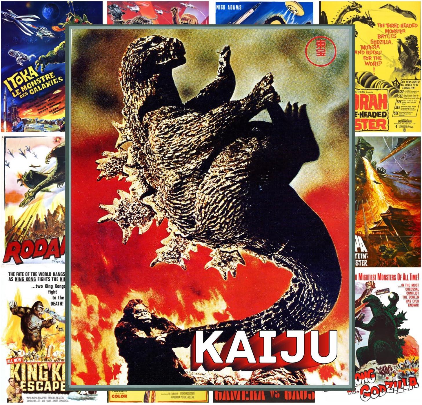 Pixiluv Mini Posters Set [13 Posters 8x11] Kaiju Horror Godzilla # Trash Movie Posters Reprint