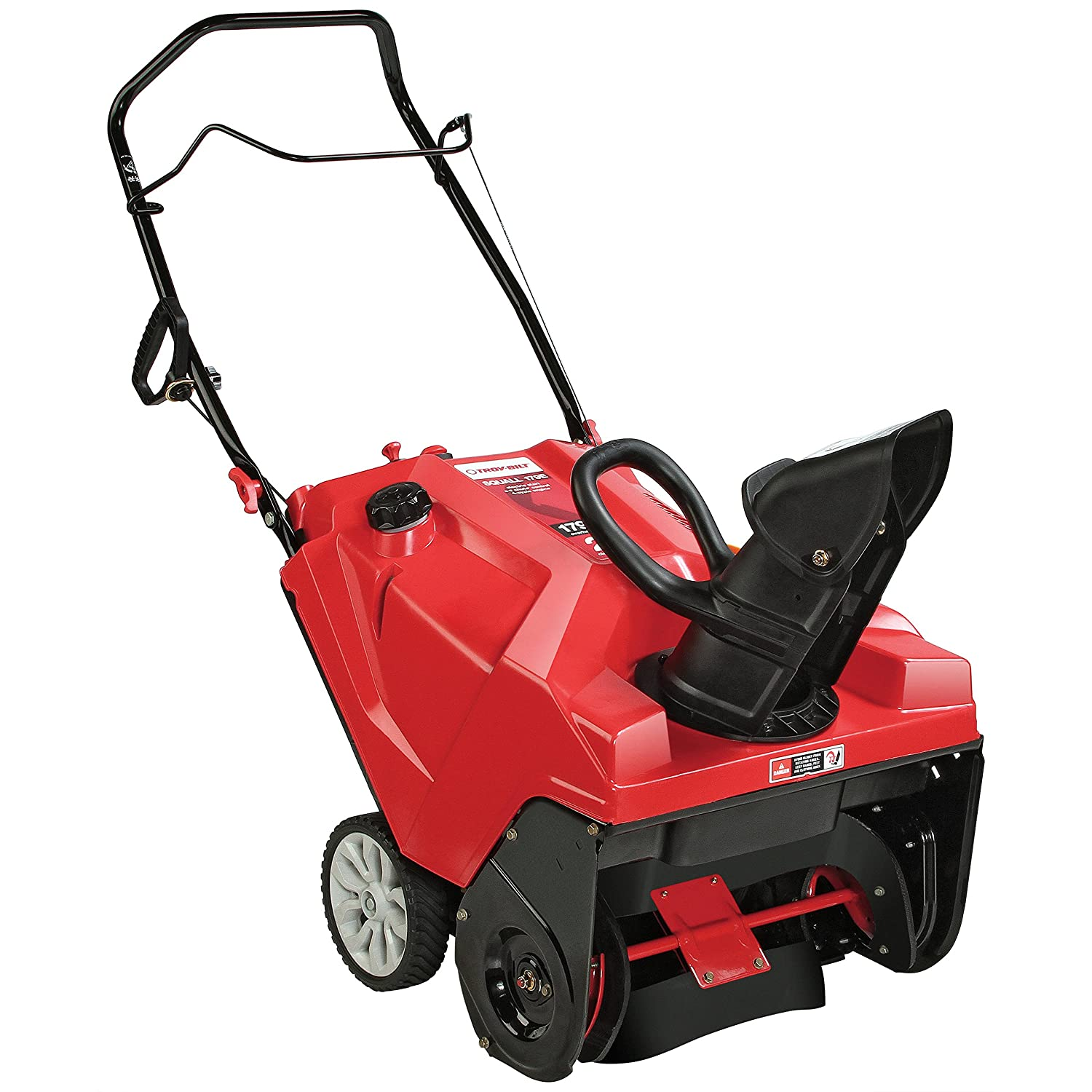 Amazon.com : Troy-Bilt Squall 179cc Electric Start 21-Inch Single Stage Gas Snow  Thrower : Garden & Outdoor
