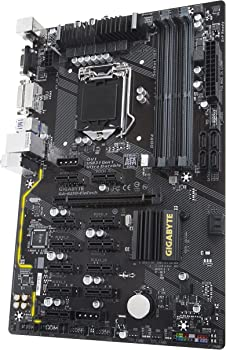 Gigabyte Intel ATX Cryptocurrency Mining 12PCIe 3.0 DDR4 Motherboard