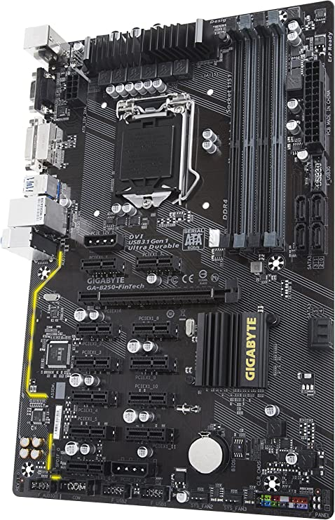 cryptocurrency mining motherboard