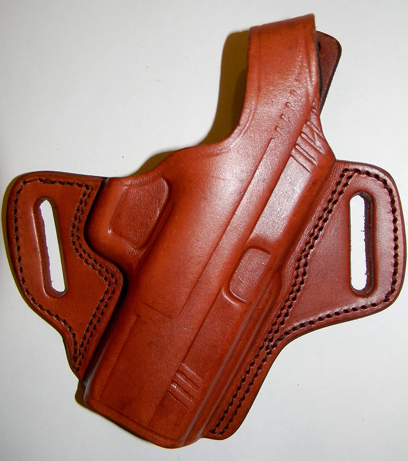 Tagua PD2-432 RH Brown Leather Paddle Crossdraw Holster SIG PRO SP2022 SP2340