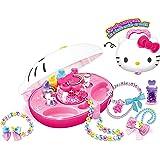 SANRIO 三丽鸥 Hello Kitty 凯蒂猫玩具 手工DIY系列-时尚串珠机 KT-50104