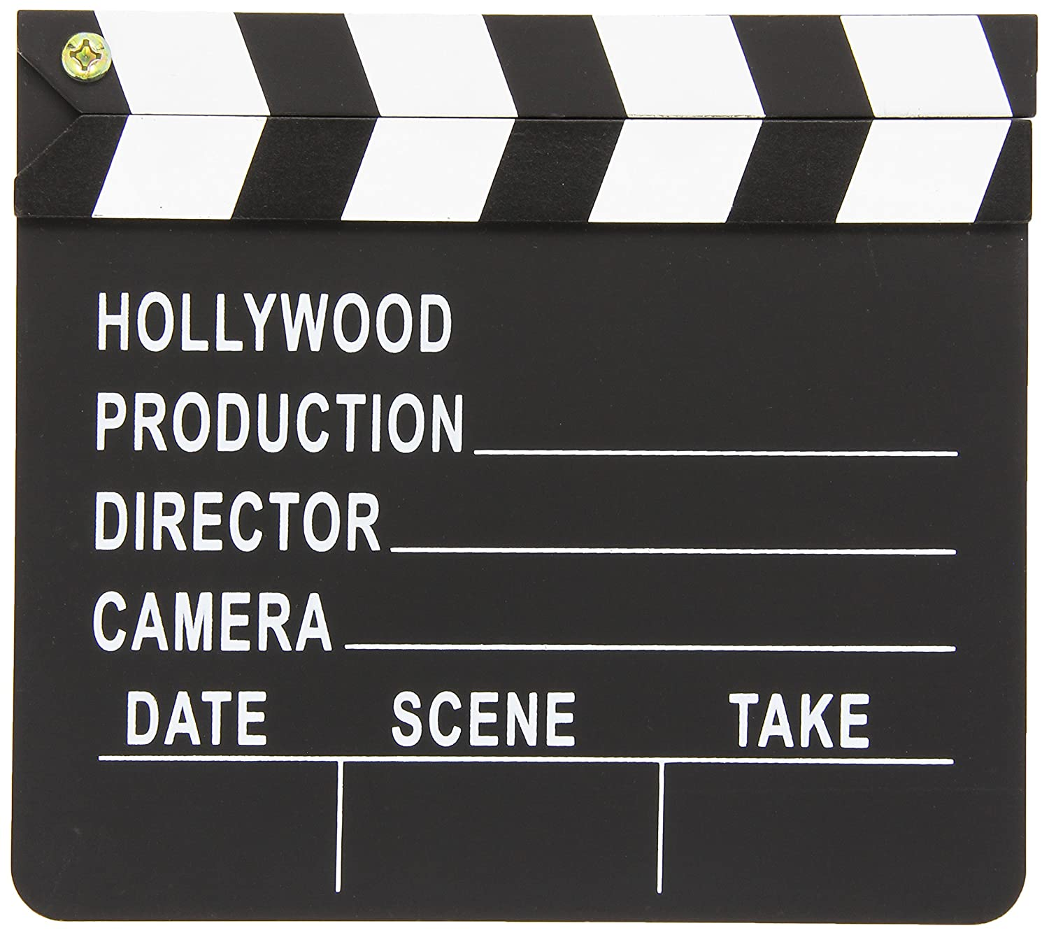 """Hollywood Director's Party Clapboard, 7"""" x 8"""""""
