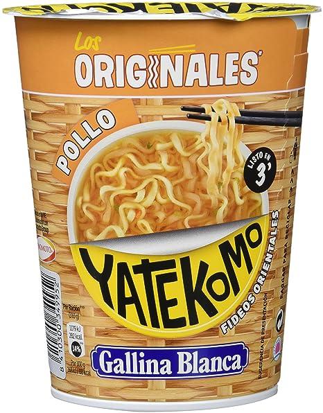Gallina Blanca - Yatekomo Pollo - Fideos orientales - 60 g