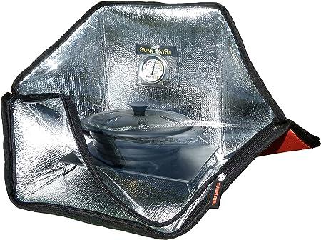 side facing sunflair mini portable solar oven