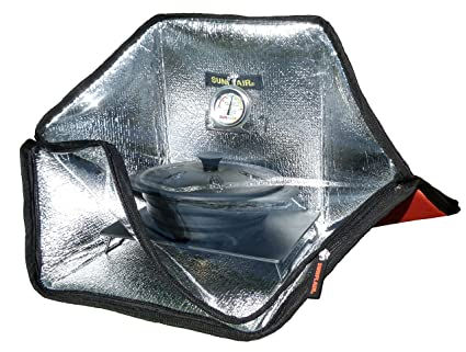 Sunflair Mini Horno Solar portátil: Amazon.es: Deportes y ...
