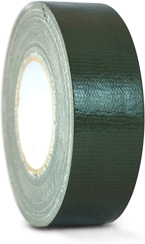 """Industrial Grade White Duct Tape 2/"""" x 60yds Waterproof and UV Resistant"""