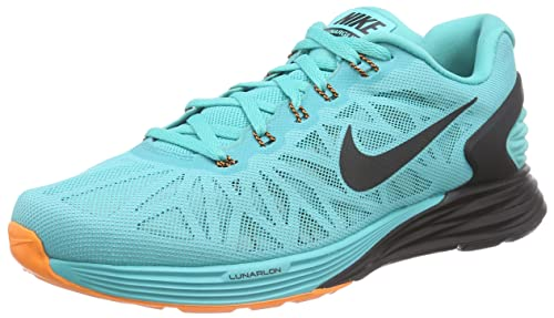 bc6273ce9ec68 Nike Lunarglide 6 Sz 12 Mens Running Shoes Blue in Box  Buy Online at Low  Prices in India - Amazon.in