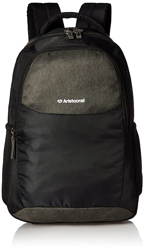 059875339303 Aristocrat Black Casual Backpack (LPBPDIO4BLK)  Amazon.in  Bags ...