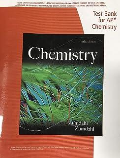 ap chemistry zumdahl 7th edition test bank