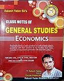 Class Notes of General Studies - Economics (Handwritten Notes)