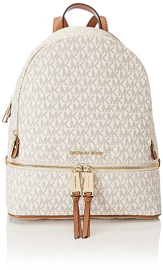 a6192d3863fa Amazon.com: Michael Kors Womens Rhea Zip Backpack Handbag Beige (TRUFFLE):  Shoes