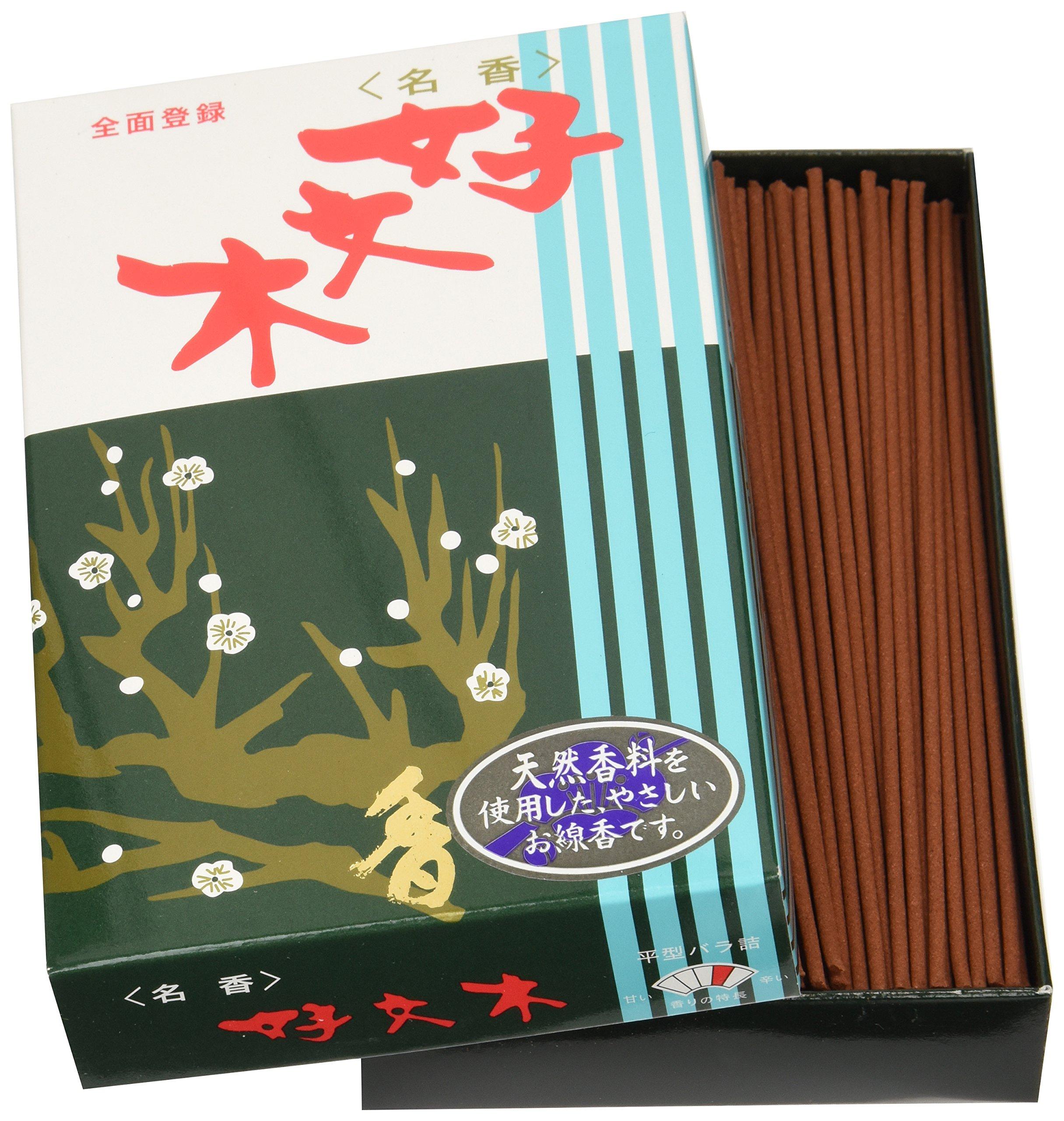Baieido Japanese Incense Kobunboku Regular - Box of 250 Sticks