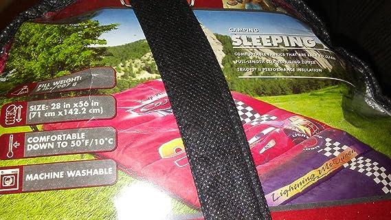 Disney - Saco de Dormir Juvenil con Relleno de 2 Libras, 71,12 x 142,88 cm: Amazon.es: Deportes y aire libre