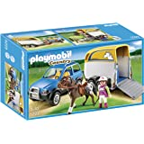 Playmobil 5223 Country SUV with Horse Trailer