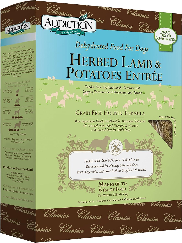 Addiction Grain Free Dehydrated Dog Food Lamb & Potato 91LX2QvNUxL