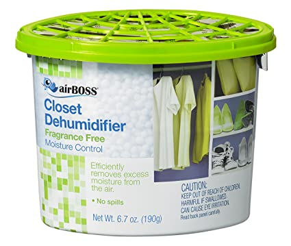 AirBOSS Closet Dehumidifier For Storage Closets And Small Spaces, Fights  Mildew And Odors, Fragrance