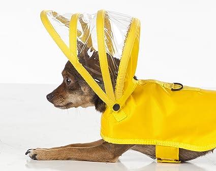 14555e8b29 Amazon.com   Dog Raincoat Yellow   Pet Supplies