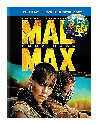 Mad Max Furia En El Camino (BD+DVD+Comic) Español Latino