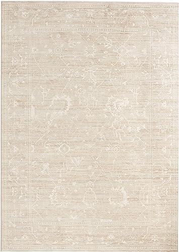 Couristan Everest Persian Arabesque Bone Area Rug, 7 10 x 11 2
