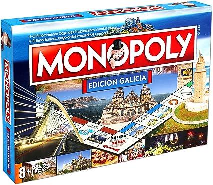Amazon.com: ELEVEN FORCE Monopoly Galicia (Español/Gallego ...