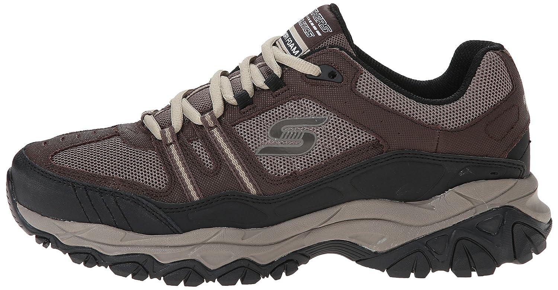 Skechers-Men-039-s-After-Burn-Memory-Fit-Strike-Off-Lace-Up-Sneaker thumbnail 25