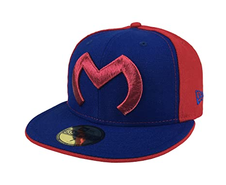 "New Era 59Fifty Hat Monarcas Morelia Michoacan Mexican League ""M"" ..."