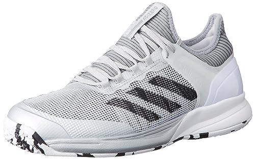 7836f65db9595 adidas Unisex Adults  Adizero Ubersonic 2 Oc Sneakers Multicolour Size  5.5  UK