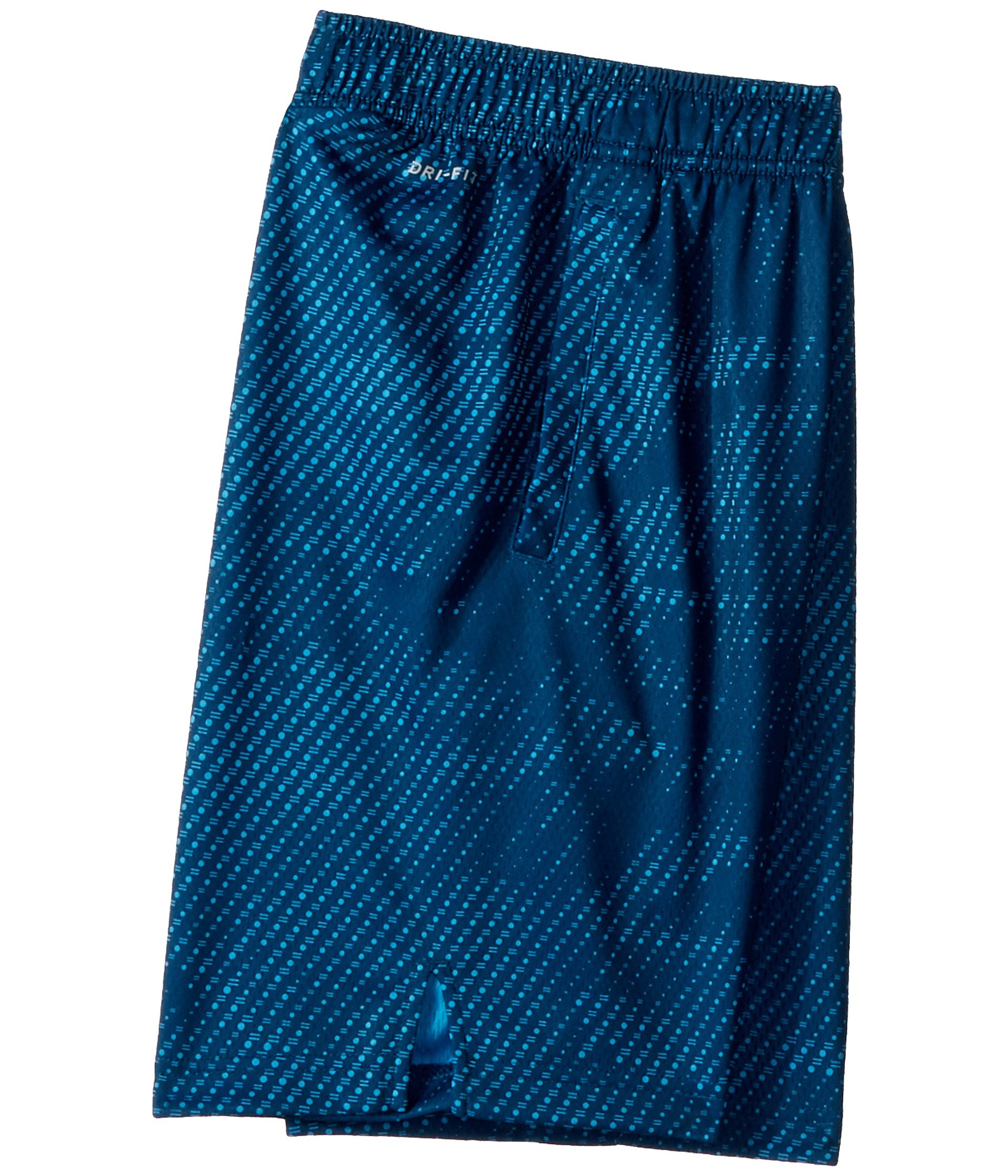 Nike Boy's Dry Printed Fly Training Shorts (Blue Force, Large) by Nike (Image #3)