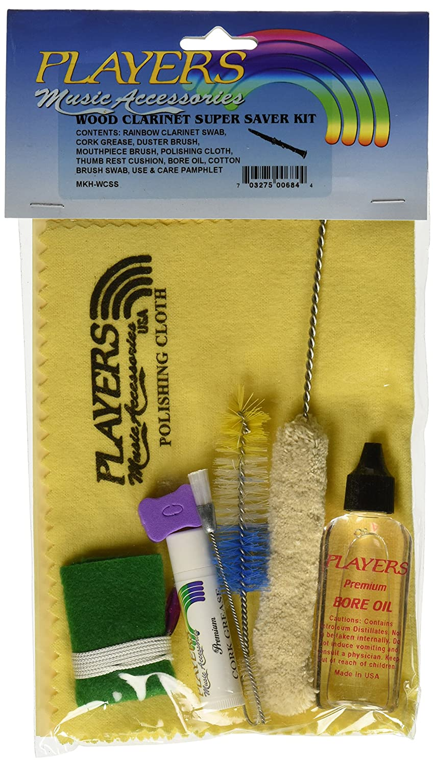 Players Products MKHWC-SS Super Saver Wood Clarinet Care Kit