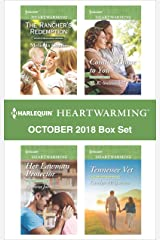 Harlequin Heartwarming October 2018 Box Set: The Rancher's Redemption\Her Lawman Protector\Coming Home to You\Tennesse Vet Kindle Edition