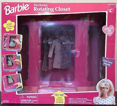 Barbie Electronic Rotating Closet