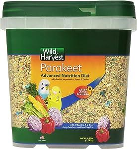 Wild Harvest Wh-83540 Wild Harvest Advanced Nutrition Diet For Nutrition Diet For Parakeets, 4.5-Pound