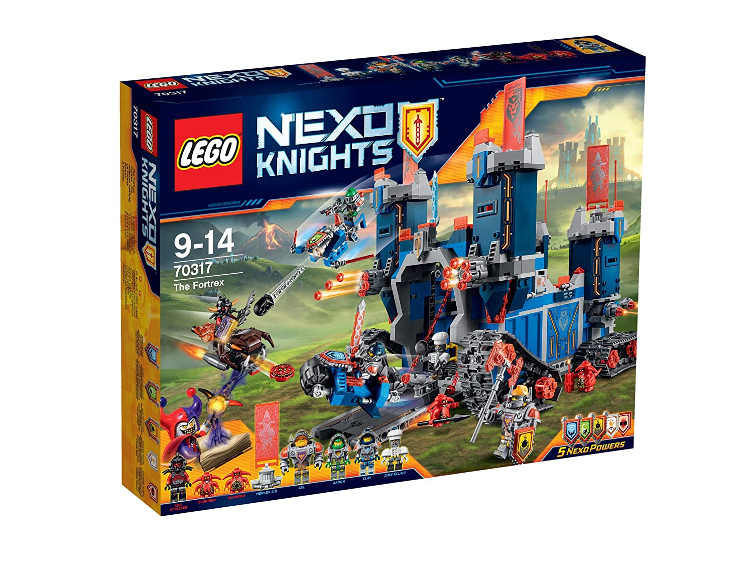 Offerta: Lego Nexo Knights - Fortrex (70317) per 69,90€ (invece di 109,99€ [amazon.it]